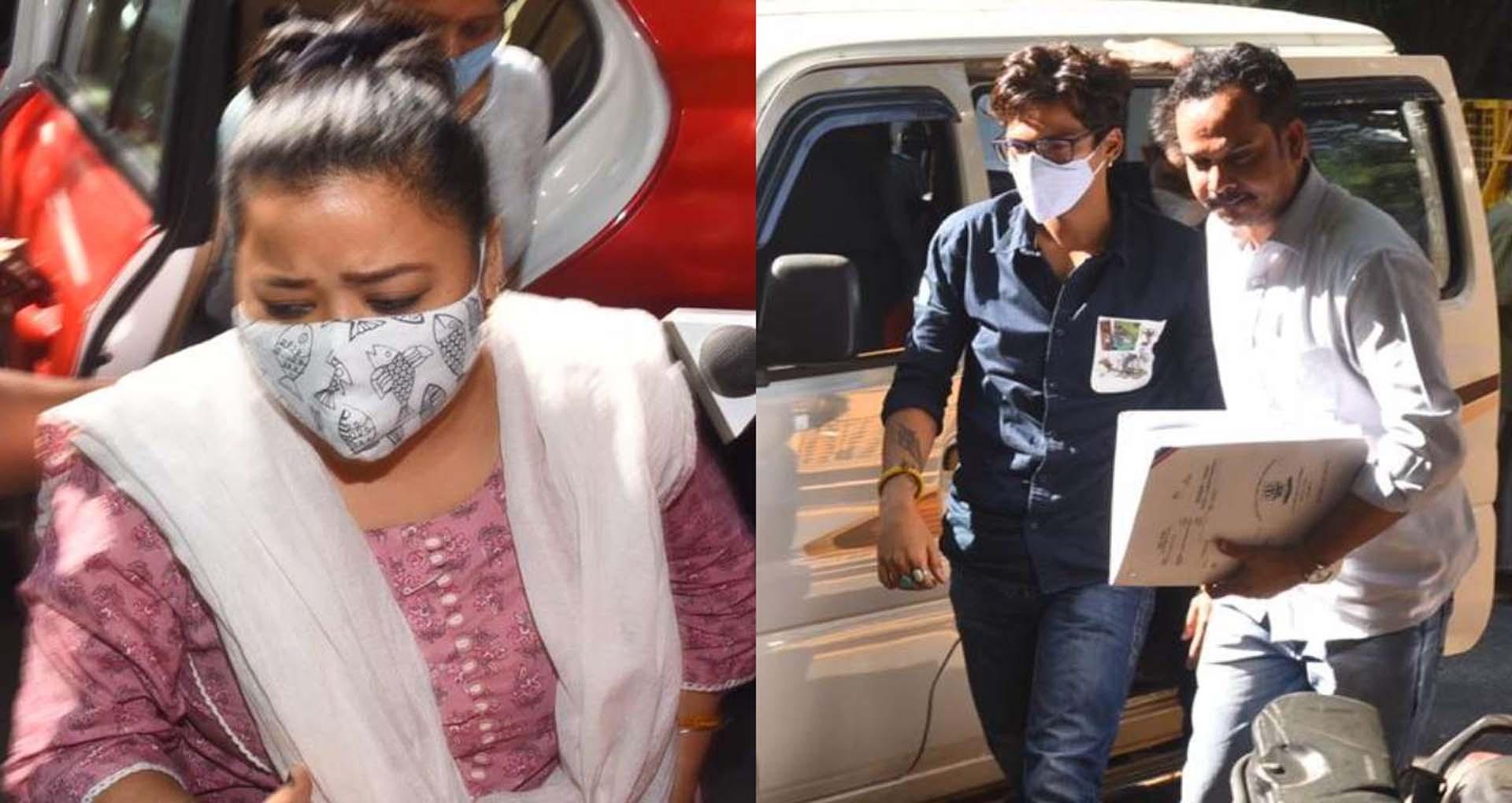 भारती सिंह के बाद उनके पति हर्ष भी आए NCB की गिरफ्त में, दोनों ने कबूली गांजा लेने की बात
