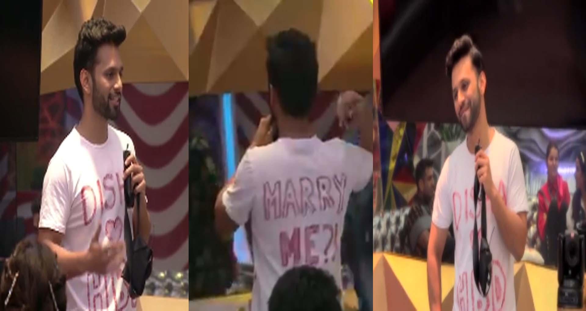 BB14: घर में राहुल वैद्य ने गर्लफ्रेंड को किया शादी के लिए प्रपोज, क्या घर में होंगे सात फेरे?