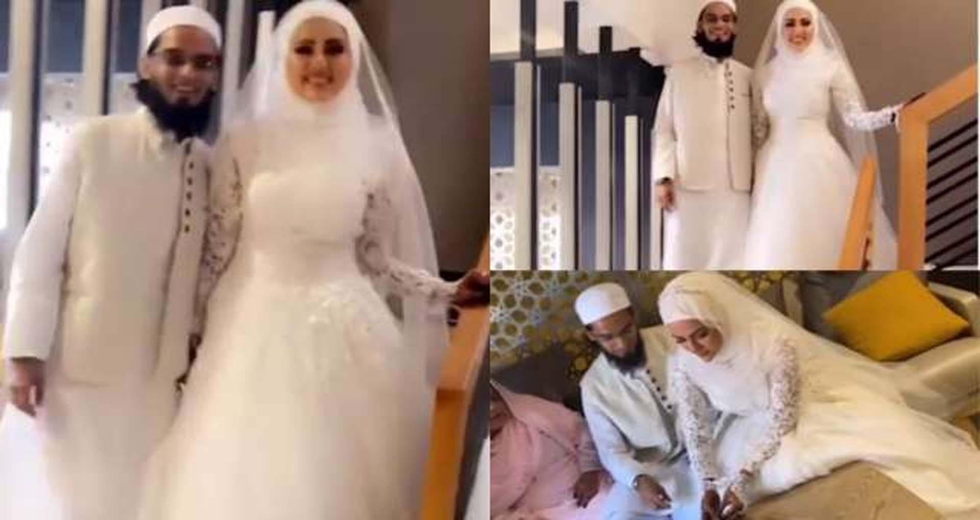 Sana Khan Marriage: सना खान ने इंडस्ट्री छोड़ने के बाद किया मौलाना मुफ्ती अनस के साथ निकाह