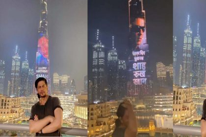 SRK Birthday: शाहरुख के बर्थडे पर जगमगाया बुर्ज खलीफा, कुछ इस अंदाज में किया विश