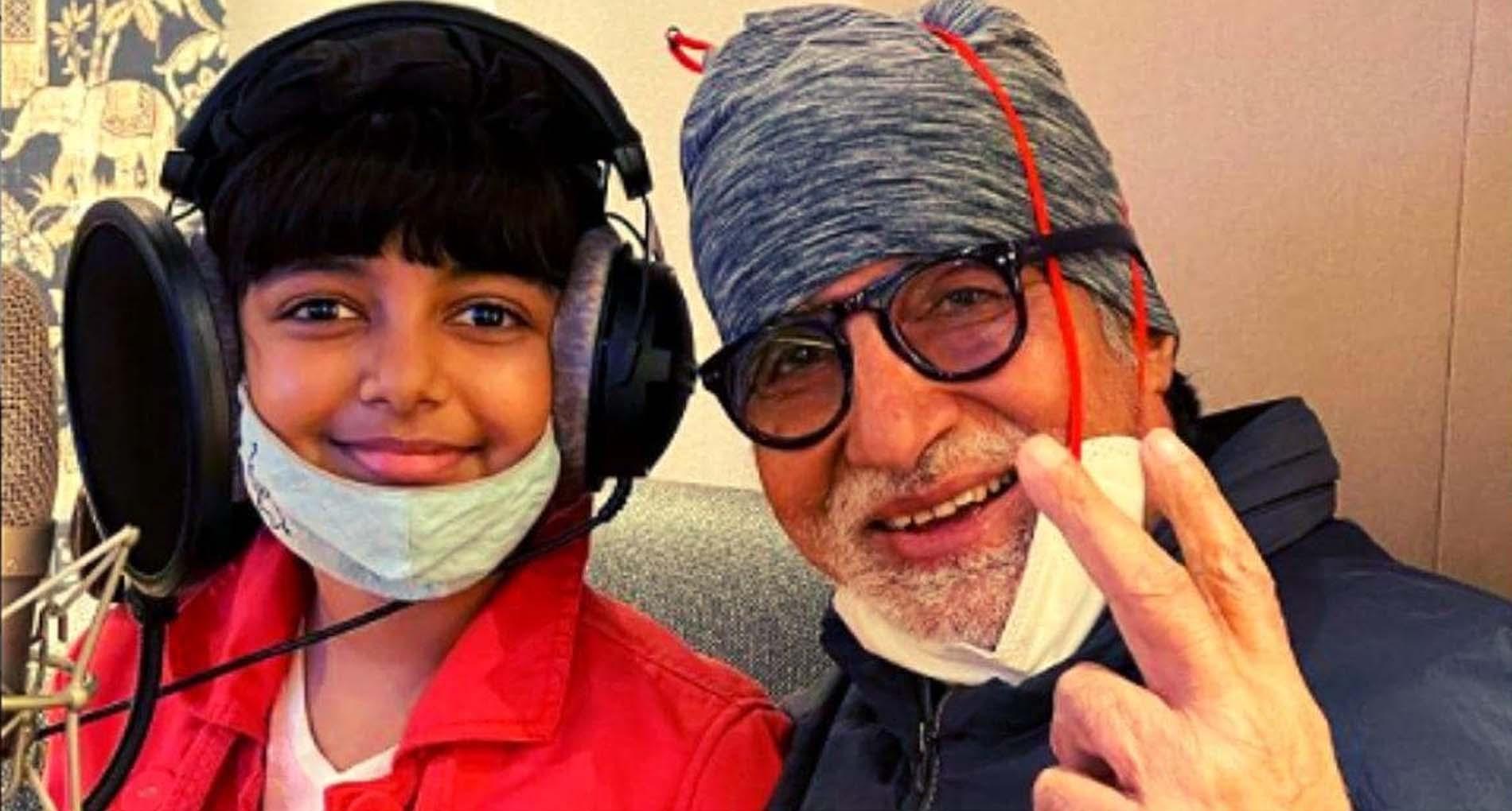 नए साल पर पोती आराध्या संग कुछ नया करते दिखेंगे अमिताभ बच्चन!
