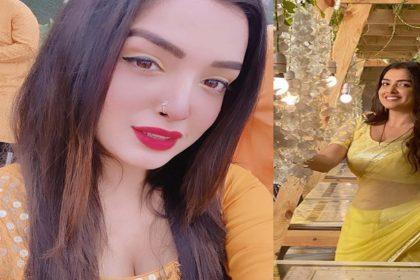 Amrapali Dubey Photos: आम्रपाली दुबे ने अपने देसी लुक से उड़ाए फैंस के होश! देखें तस्वीरें