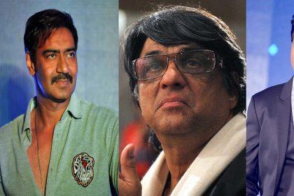 मुकेश खन्ना के निशाने पर आए अजय देवगन और शाहरुख़ खान!