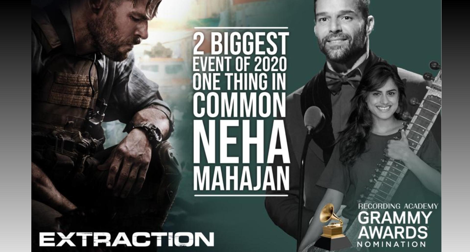 नेहा महाजन और रिकी मार्टिन के गाने को मिला र्गैमी नोमिनेशन, भारत के लिए गर्व की बात!