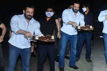 Salman Khan Birthday: सलमान खान ने इस अंदाज में सेलिब्रेट किया अपना 55वां बर्थडे! देखें Photo