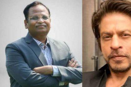 सत्येंद्र जैन ने जताया शाहरुख खान का आभार, शाहरुख ने कोरोना से लड़ाई में की बड़ी मदद