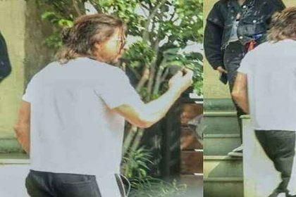 'पठान' के लिए शाहरुख खान का नया लुक आया सामने! लंबे बाल और फ्रेंच दाढ़ी में दिखे, देखें Photos