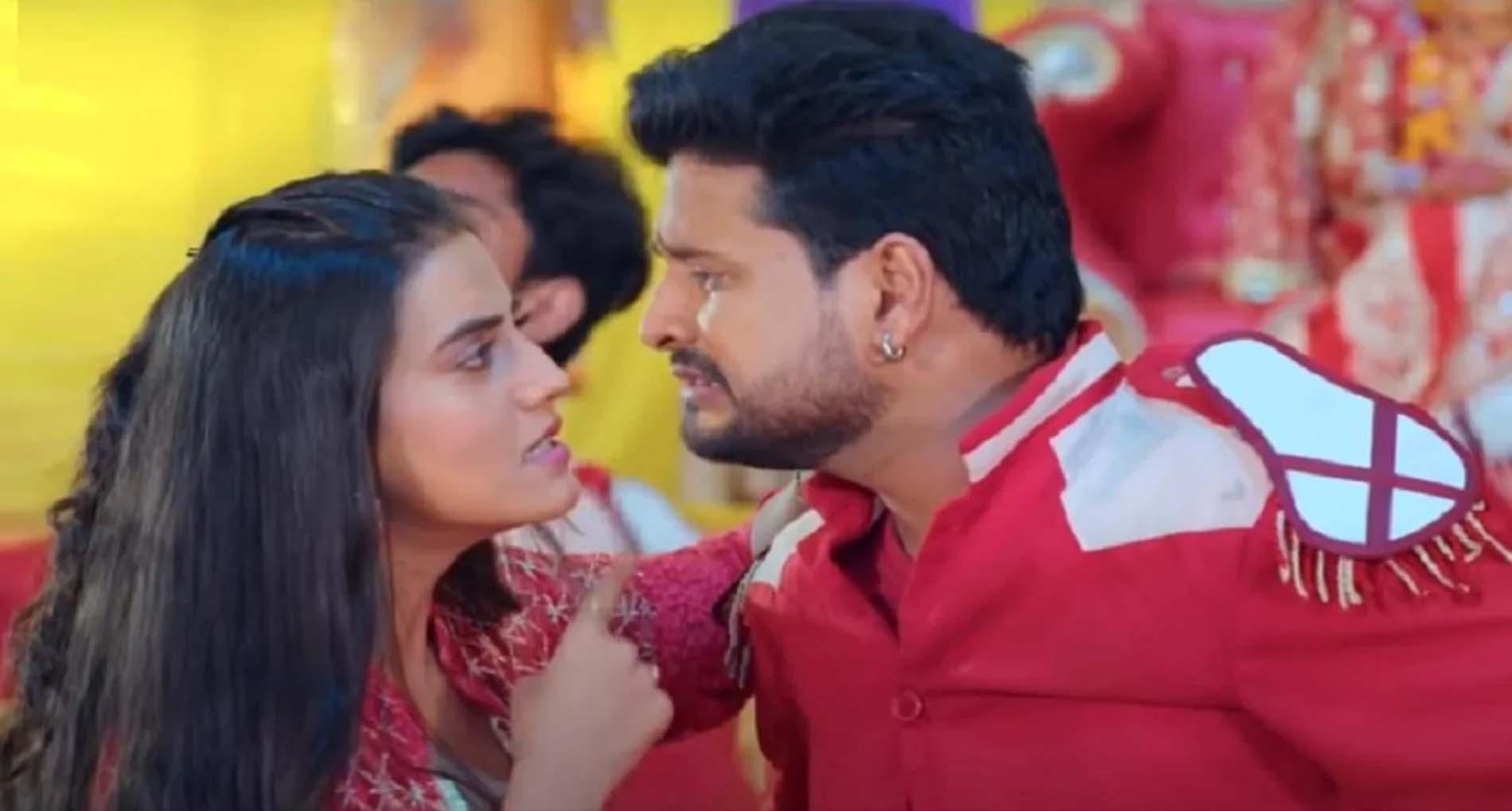 Akshara Singh New Bhojpuri Song: रितेश पांडे संग अक्षरा सिंह ने मचाया धमाल, देखें शानदार Video