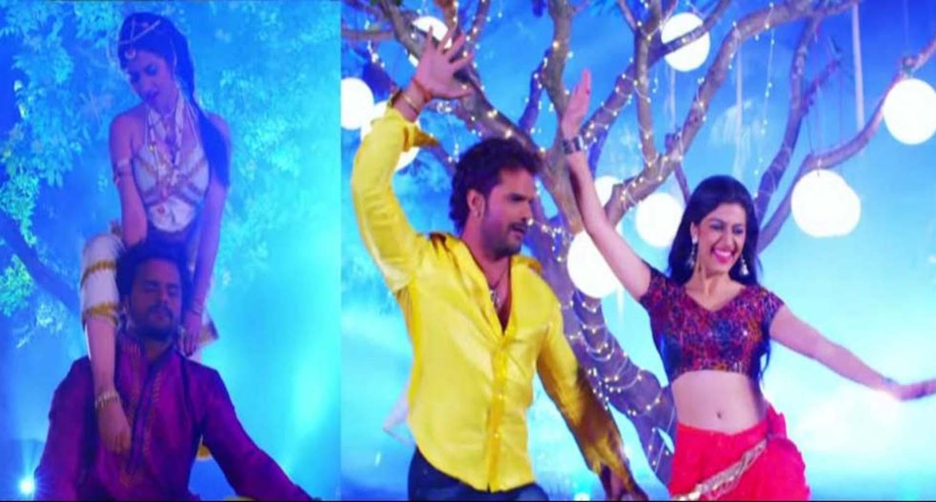 Khesari Lal yadav Hit Song: खेसारी लाल यादव के गाने 'तर तर पसीना' ने मचाया धमाल! देखें वीडियो