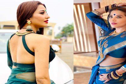 Monalisa Bold Photo: मोनालिसा के देसी लुक ने इंटरनेट पर मचाया धमाल! देखें तस्वीरें