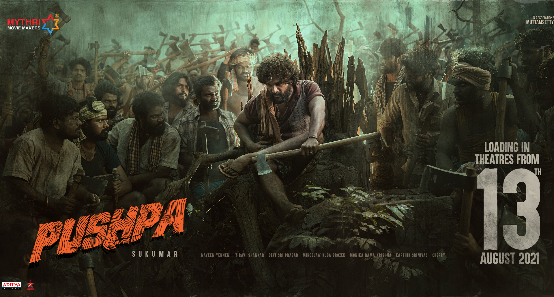 अल्लूअर्जुन स्टारर बहुप्रतीक्षित फिल्म'पुष्पा 13' अगस्त को रिलीज़ होगी, जानिये पूरी डिटेल!