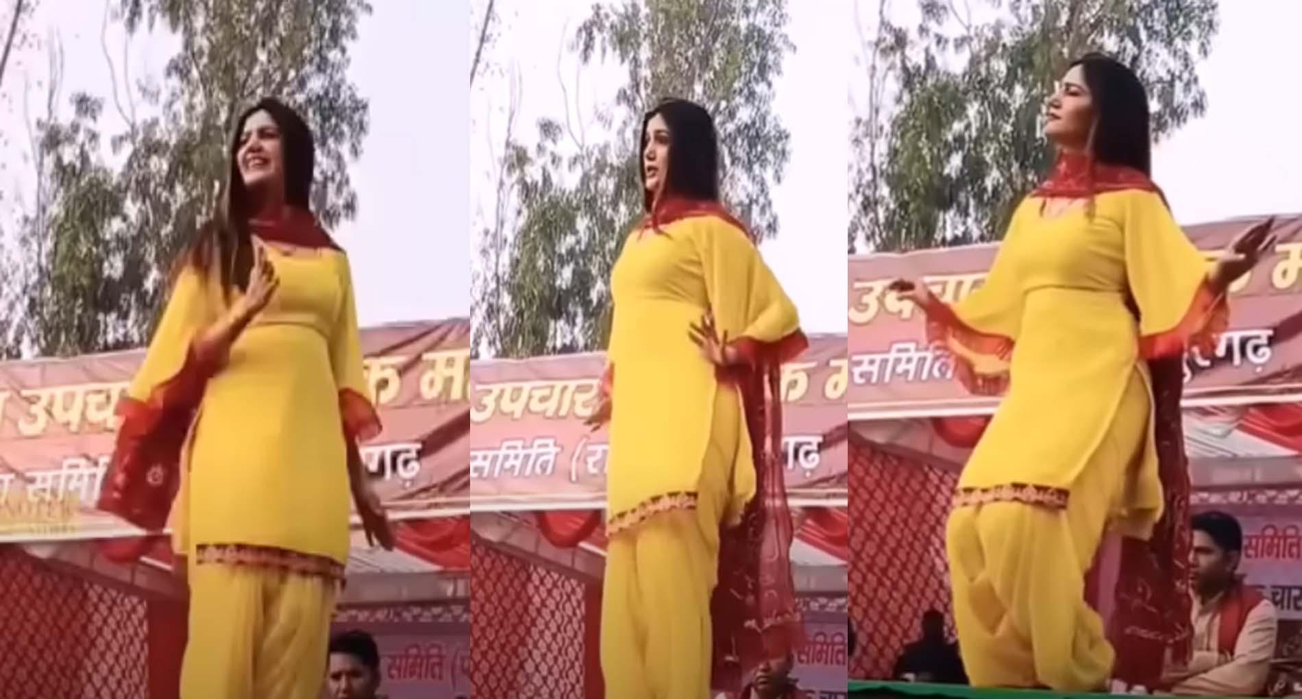 Sapna Choudhary Dance Video: सपना चौधरी ने 'जीभ से चाट राखी से' गाने पर किया जोरदार डांस!
