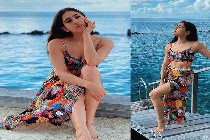 Sara Ali Khan Photos: शूटिंग खत्म कर छुट्टियां मनाने मालदीव पहुंची सारा अली खान! देखें तस्वीरें