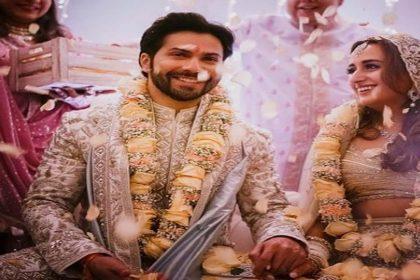 नताशा दलाल संग शादी के बंधन में बंधे वरुण धवन, देखें- शादी की पहली तस्वीरें
