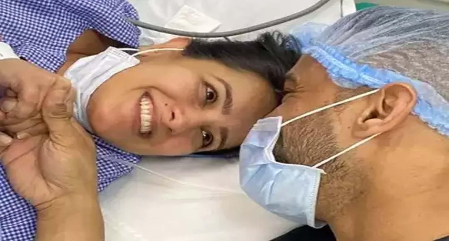 टीवी एक्ट्रेस अनीता हसनंदानी ने दिया बेटे को जन्म, पति रोहित रेड्डी ने शेयर की तस्वीर