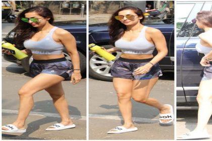 Malaika Arora Bold Photos: जिम आउटफिट में मलाइका अरोड़ा का हॉट लुक! देखें तस्वीरें
