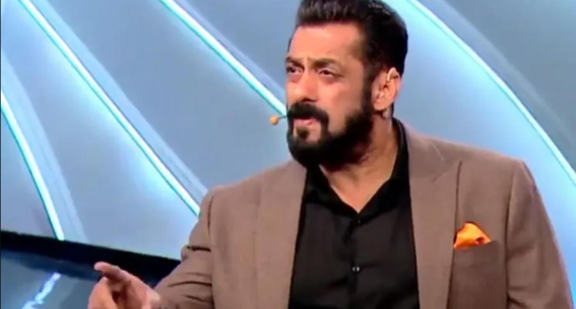 """Bigg Boss 14 PROMO: घर वालों से परेशान होकर सलमान खान ने कहा, """"I am done!'"""