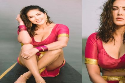 सनी लियोन की 'ट्रडिशनल लुक' वाली तस्वीरों ने इंटरनेट पर मचाया तहलका! देखें तस्वीरें