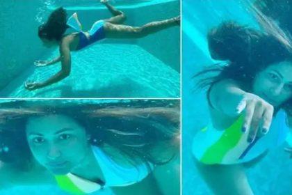 हिना खान ने अंडरवाटर दिखाईं अपनी अदाएं! तस्वीरों पर हो रही लाइक्स की बौछार, देखें फोटो