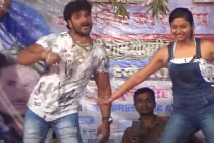 Khesari Lal Yadav Bhojpuri Song: सरसों के सगिया' गाने पर खेसारी लाल ने किया जोरदार डांस!