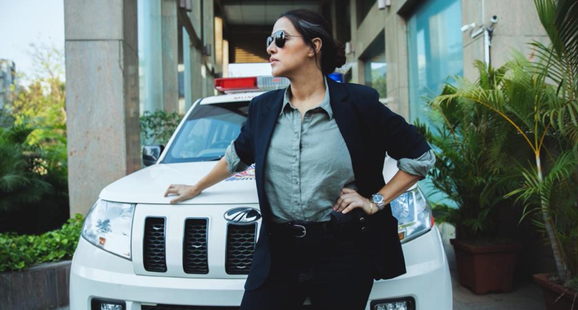 'ए थर्सडे' में पुलिस की भूमिका में दिखेंगी नेहा धूपिया, देखिये उनका फर्स्ट धाकड़ लुक!