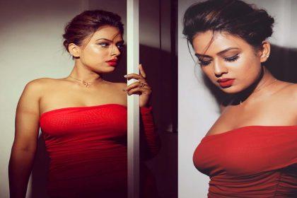 Nia Sharma Bold Photo: रेड ड्रेस पहन निया शर्मा ने ढाया कहर! देखें बोल्ड तस्वीरें