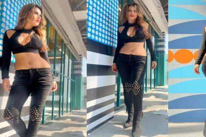Nia Sharma Bold Photos: ब्लैक ऑउटफिट में निया शर्मा ने ढाया कहर! तस्वीर देख फैंस हुए बोल्ड
