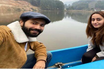वरुण धवन ने पत्नी नताशा दलाल संग शेयर की फोटो, कैप्शन में लिखा- 'हनीमून पर…'