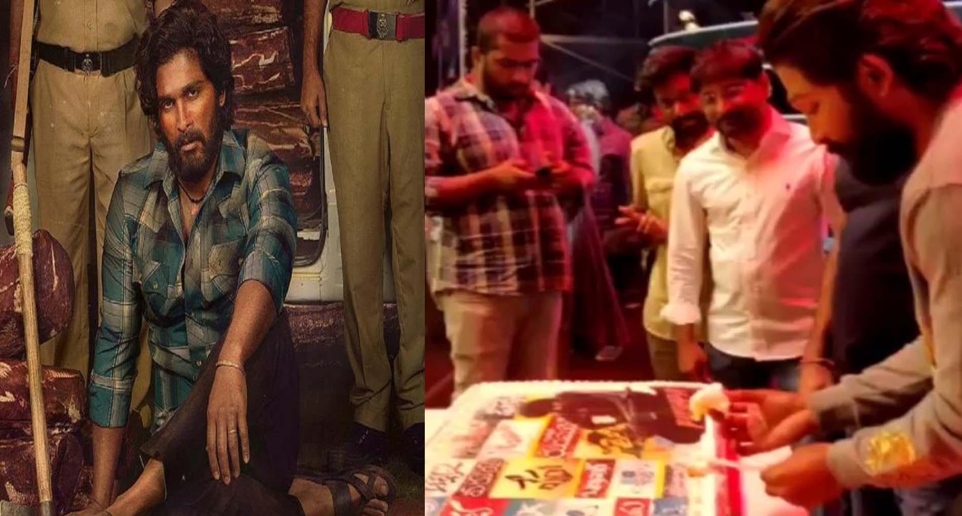 अल्लू अर्जुन की आगामी फिल्म 'पुष्पा' की पहली झलक का पदार्पण!
