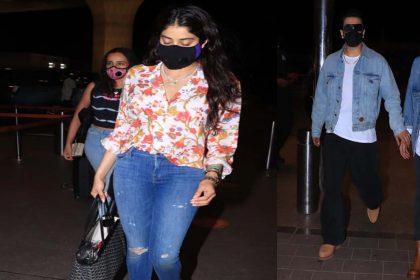 Mumbai Lockdown: मुंबई में कोरोना कर्फ्यू के बाद शहर से बाहर जाते दिखे स्टार्स! देखें Photos