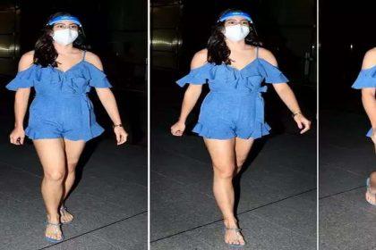 Sara Ali Khan: शॉर्ट ड्रेस पहन सारा अली खान ने जीता फैंस दिल! देखें स्टाइलिश तस्वीरें