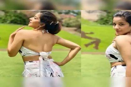 बैकलेस ड्रेस में भोजपुरी ऐक्ट्रेस मोनालिसा का दिखा ग्लैमरस अंदाज! देखें तस्वीरें