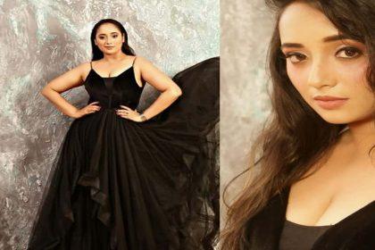 Rani Chatterjee Photos: रानी चटर्जी ने ब्लैक ड्रेस में ढाया कहर! देखें बोल्ड Photos