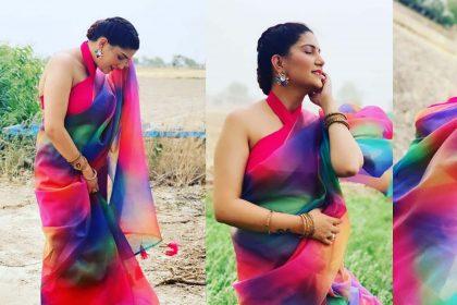 Sapna Choudhary Latest PhotoShoot: हरियाणवी 'क्वीन' सपना चौधरी का स्टाइलिश अवतार!