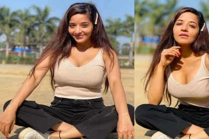 Monalisa Photos: भोजपुरी एक्ट्रेस मोनालिसा का वेस्टर्न लुक जलवा! फैंस हुए बोल्ड