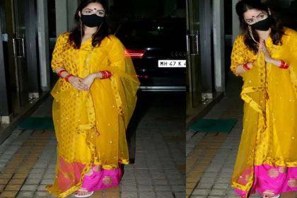 शादी के बाद मुंबई लौटी यामी गौतम! हाथों में चूड़ा, पैरों में पायल पहने आईं नजर, देखें फोटोस