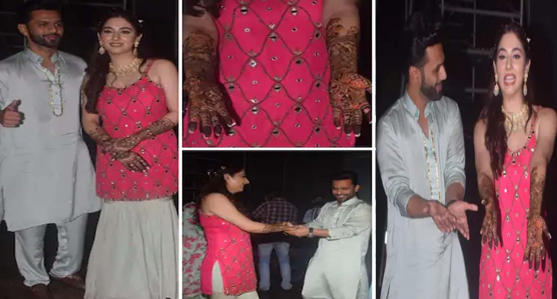 Rahul Vaidya-Disha Parmar Wedding: राहुल-दिशा ने मेहंदी की रस्म में की खूब मस्ती! देखें Video
