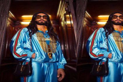 Ranveer Singh Photos: एक बार फिर अजीबो-गरीब लुक में नजर आए रणवीर सिंह! वायरल हुई तस्वीरें