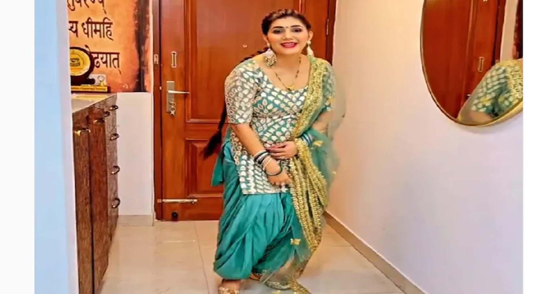 Sapna Choudhary Dance Video: सपना चौधरी ने अपने नए गाने पर लगाए जोरदार ठुमके! देखें वीडियो