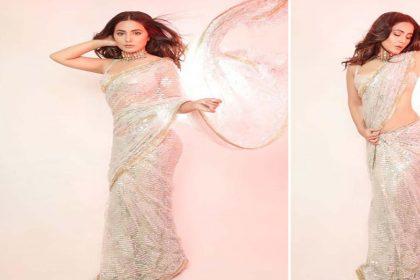हिना खान ने साड़ी में शेयर की शानदार फोटो! खुद को कहा 'परम सुंदरी'