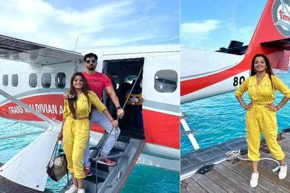 भोजपुरी एक्ट्रेस मोनालिसा छुट्टियां मनाने पहुंचीं मालदीव! शेयर की Photos