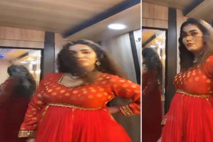 सपना चौधरी ने 'महबूब मेरे' गाने पर किया जोरदार डांस! सोशल मीडिया पर वायरल हुआ वीडियो