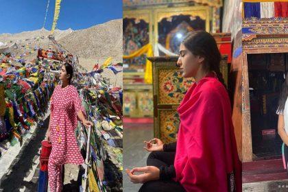 Sara Ali Khan Photos: सारा अली खान ने शेयर की लद्दाख ट्रिप की तस्वीरें! दोस्तों संग आईं नजर