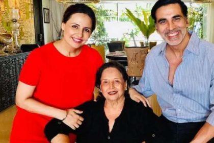 अक्षय कुमार की मां का निधन! अक्षय ने पोस्ट शेयर कर दी जानकरी! कहा- 'असहनीय है ये दर्द'