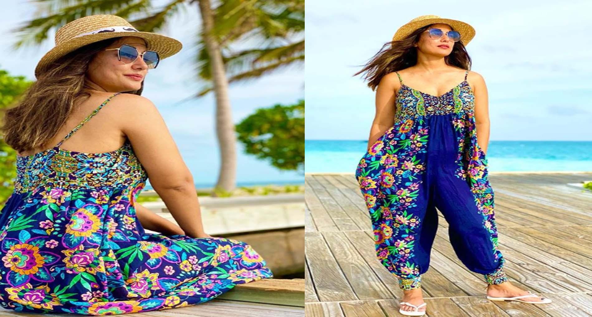 Hina Khan Photos: हिना खान मालदीव में कर रही हैं जमकर मस्ती! देखें दिलकश अंदाज