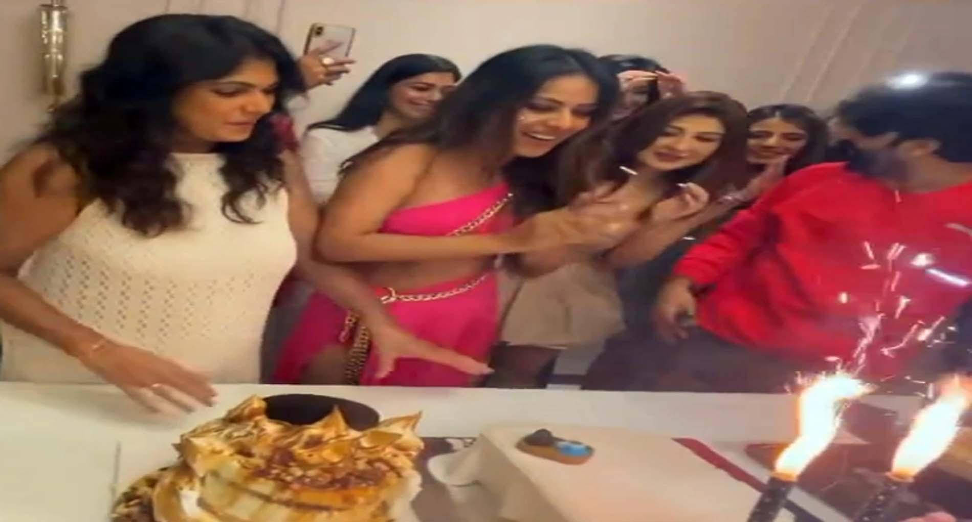 Nia Sharma Birthday Celebration: बेडरूम केक से 'बॉम्ब डांस' तक! ऐसे मनाया निया शर्मा ने अपना बर्थडे