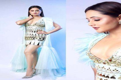 Rashami Desai Photoshoot: शिमरी शॉर्ट ड्रेस में रश्मि देसाई ने ढाया कहर! फ्लॉन्ट किया ग्लैमरस लुक